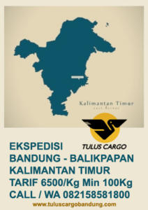 Ekspedisi Bandung Balikpapan Kalimantan Timur