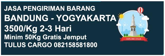 Ekspedisi Bandung Yogyakarta - Ongkir Murah